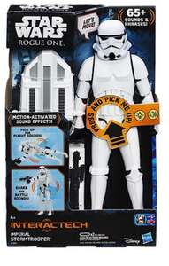 Star Wars Rogue One Stormtrooper 30cm Electronic figure £12.89/£16.88 Delivered - online @ The Entertainer