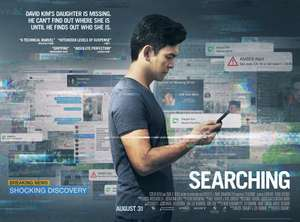 Searching - Free Film Tickets Sunday 19th August