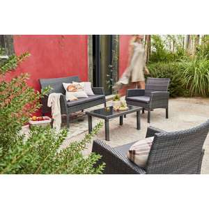 Wilko Garden Rattan Lounge Set £100 / £108 delivered @ Wilko