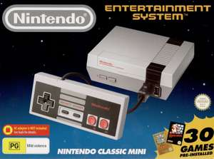 Nintendo  Classic Mini Entertainment System at Currys Ebay for £44.99