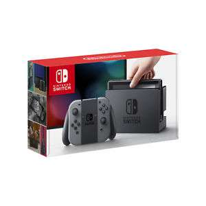 Nintendo Switch 32GB Console with Grey Controllers £242.09 @ Tronix / Ebay