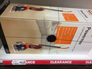 Vax powermax carpet washer £42.25 Clearance in Asda Sealand road