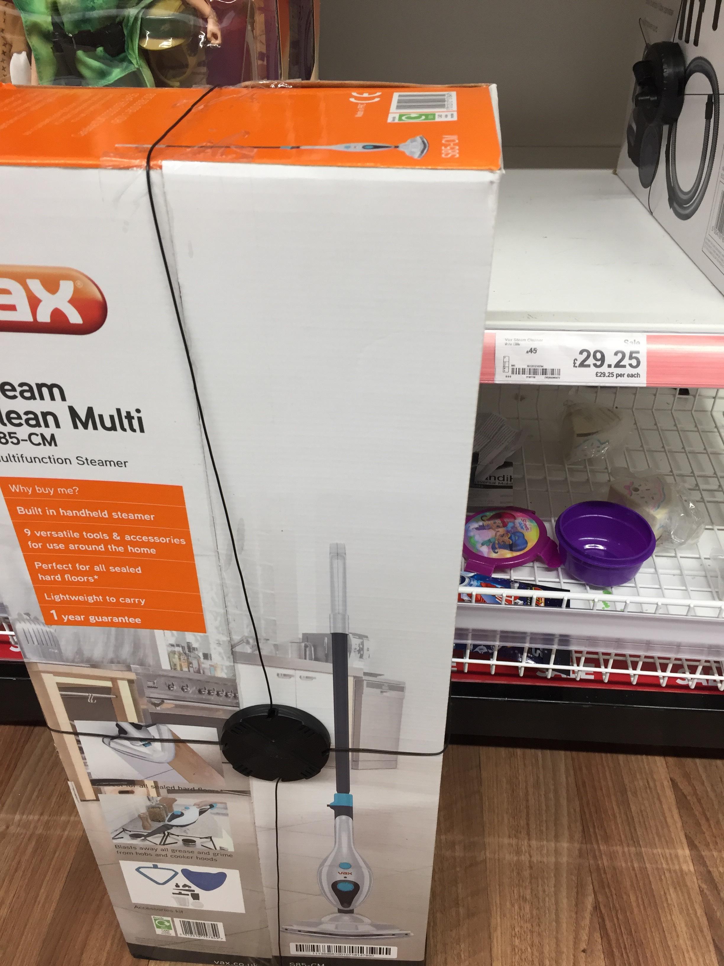 Vax Steam clean multi in Asda Sealand road Chester for £29.25