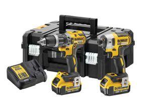 DeWalt DCK266M2T 18V 2 x 4.0Ah XR Brushless Hammer Drill and Impact Driver Twin Pack £249 via C+C @ Wickes