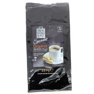59p ground coffee 227g pack 59p / £5.54 delivered or £1 delivery with code if spending £25+ @ Poundshop