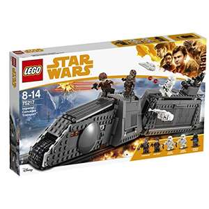 Lego Star Wars 75217 Imperial Conveyex Transport £58.13 @ Amazon with free delivery (also other New August 2018 Lego Star Wars sets with good reductions)