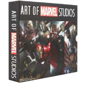 Art of Marvel Studios - 4 Book Set In deluxe Slipcase £30.98 delivered @ Zavvi