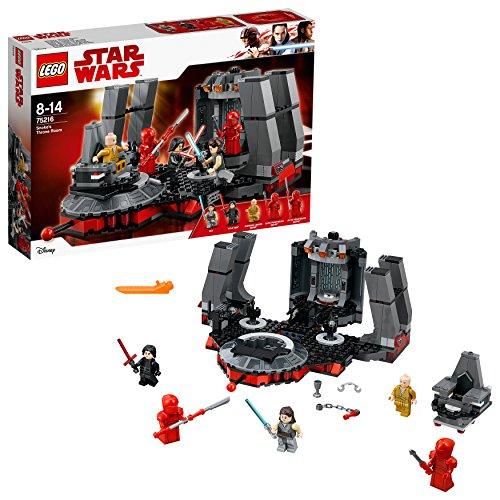 LEGO Star Wars 75216 Snoke's Throne Room £47.23 @ Amazon