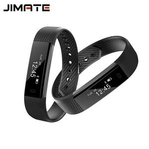 ID115 Smart Bracelet Watch Fitness Tracker Step Counter Activity Monitor Band Alarm Clock Vibration Wristband For IOS Android £3.52 @ Ali express