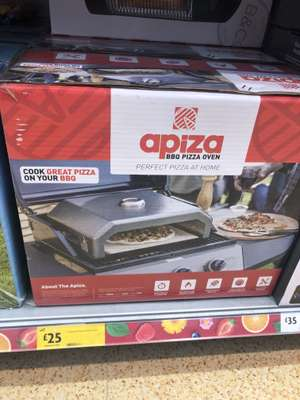 Pizza oven £25 @ Morrisons Darlington
