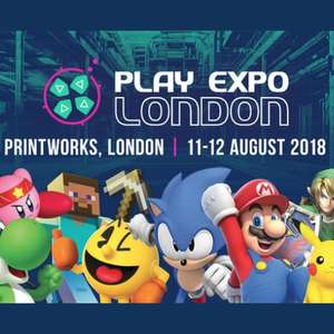 PLAY Expo London 2018 Gaming Expo - Children £7.14 / Adults £10.20 @ Groupon