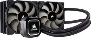 Corsair Hydro H100x 240mm Radiator Liquid CPU Cooler. £67.97 Sold and Dispatched by Amazon