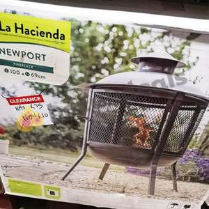 La Hacienda Fireplace and Chimenea Clearance B&Q Instore (Beckton) from £5