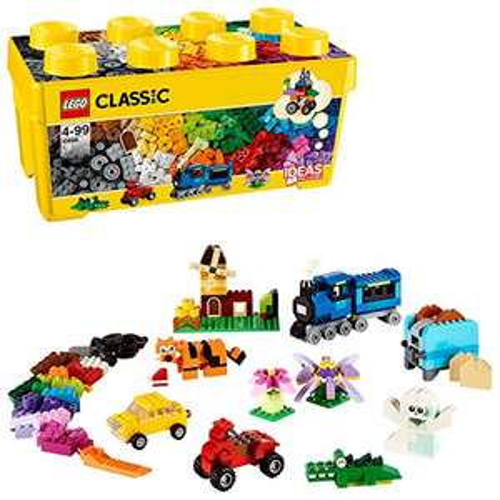 LEGO 10696 Classic - Medium Creative Brick Box - £18.16 (Prime) £22.65 (Non Prime) @ Amazon