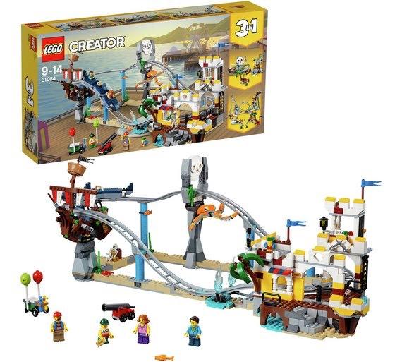 Lego 31084 Creator Fairground Pirate Roller Coaster - amazon - £50.86
