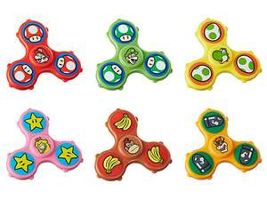 Super Mario & friends figet spinners 49p each at Home Bargains