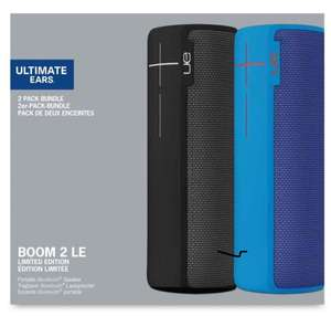 Ultimate Ears BOOM 2 Wireless/Bluetooth Speakers - Two Speaker Bundle (Black and Blue) @ Amazon Warehouse £119.48 Free Prime Delivery