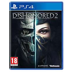 Used Dishonored 2 Ps4 cheapest delivered - £4.99 @ GAME