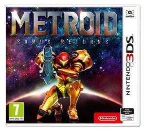 Metroid: Samus Returns Nintendo 3DS Game £24.99 from Argos