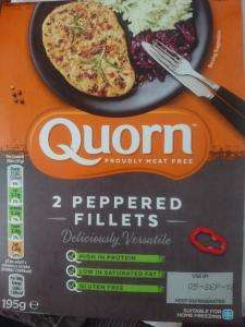 Quorn Meat Free Peppered Fillets @ Heron Foods - 50p