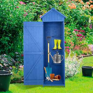 Outsunny 3 Shelves Garden Shed Tool Storage £96.99 Delivered @ outsunny/ebay