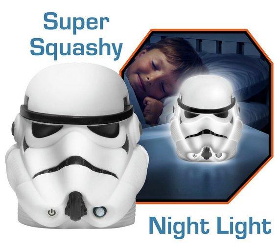 GoGlow Star Wars Stormtrooper Soft Night Light @ Argos (C&C) - £4.99