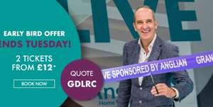 2 for 12/2 for 15 Grand Designs Live Tickets @ See Tickets