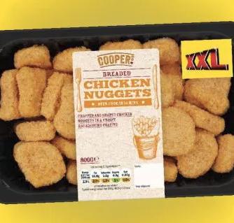 XXL Chicken Nuggets 800g £3.99 @ Lidl
