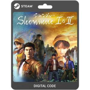 SHENMUE I & II PC steam (Europe) @ play asia - £19.01