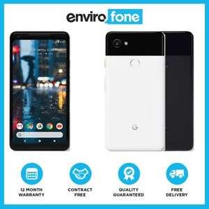 Google Pixel 2 XL *128GB* Unlocked SIM Free Just Black - 12.2 MP Camera Andoid Smartphone Refurb Excellent £467.99 @ Envirofone / ebay