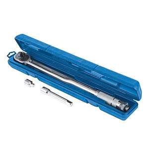 Silverline Torque Wrench 1/2 inch 28-210 Nm - Sold and Despatched by Langley Steelworks Ltd via Amazon - £19.66