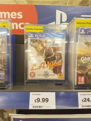 LA Noire (PS4/Xbox One) Sainsbury's in store (Norwich) - £9.99