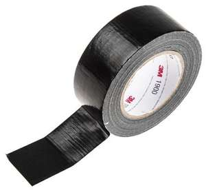 3M Duct Tape Massive 50m roll with free next day delivery - £2.86 @ RS Components