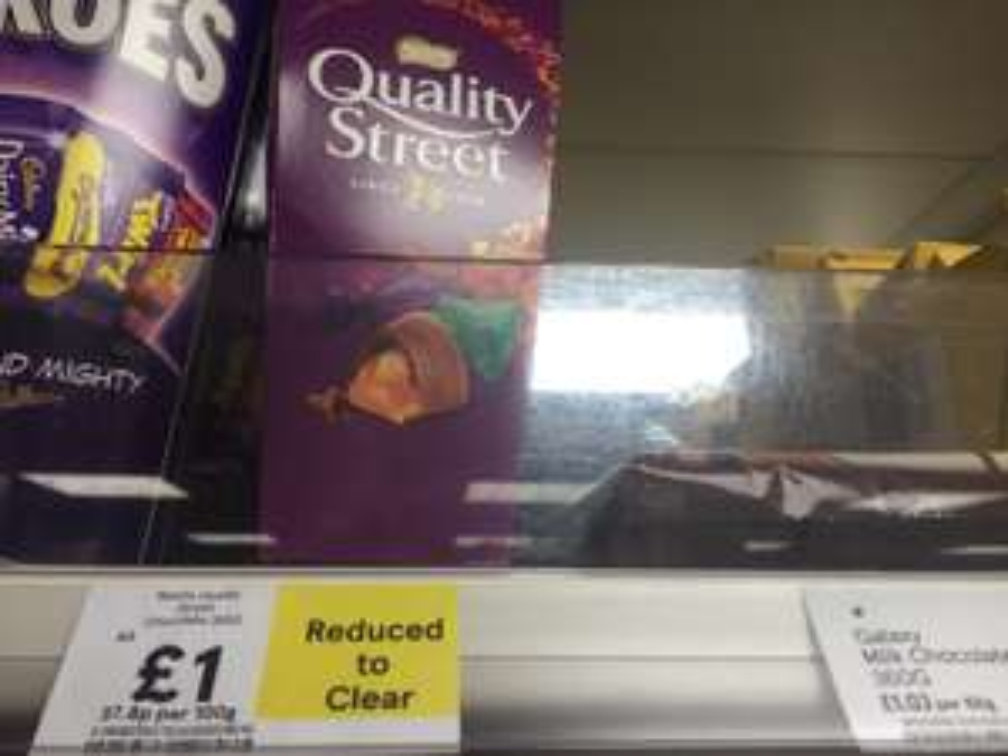 Quality Street £1 Hounslow Wellington Road Tesco