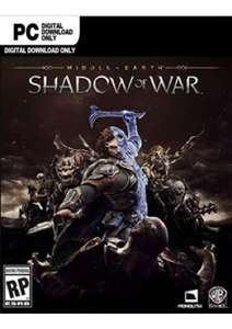 Middle-earth: Shadow of War PC (Steam) @ cdkeys.com - £10.49
