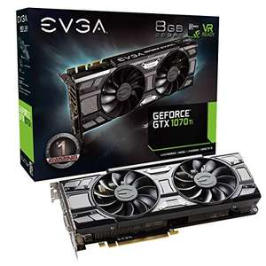 EVGA - GeForce GTX 1070 Ti 8GB SC GAMING ACX 3.0 Black Edition Video Card - £402.96 @ Amazon