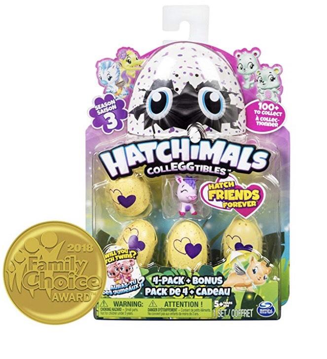Hatchimals Series 3 - plus 3 for price of 2 - £7.26 Prime / £12.21 non-Prime @ Amazon