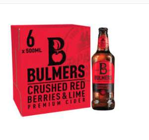 Bulmers crushes red berry & lime £7 @ Asda Toryglen Glasgow
