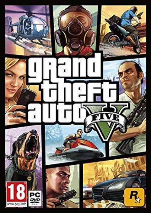 Grand Theft Auto V 5 (GTA 5) PC £10.44/ £10.99 @ CdKeys