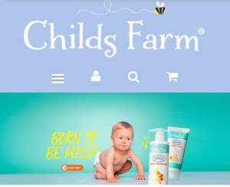 3 For 2 for Childs Farm Shampoo Moisturiser Hair & Body Wash Bubble Bath Nappy Cream 250ml £4 each @ Tesco