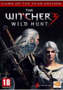 The Witcher 3 Wildhunt Game Of The Year Edition @ CD KEYS. £14.99 or £14.24 with 5% FB Code