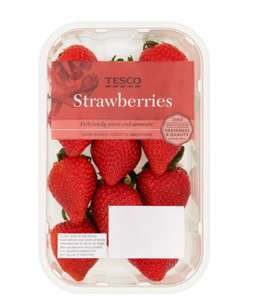 British Strawberries 400g Half price at £1 Tesco instore