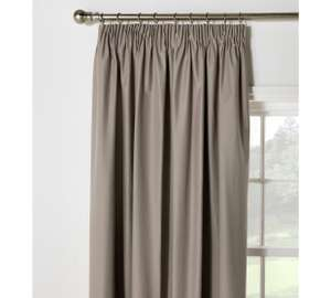 ColourMatch  Blackout thermal curtains @ Argos from £8.99