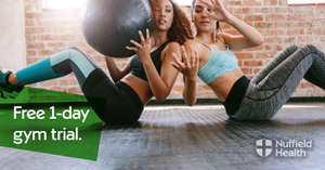 FREE 1 Day Pass at Nuffield Health