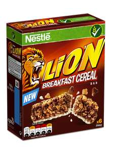 Box of x6 lion cereal bars £1 at poundland (possibly poundland exclusive) cant find them anywhere else