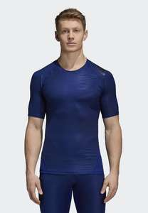 Adidas alphaskin mens base layer top £10.26 delivered at zalando with code FINALSALE10 navy blue sports wear