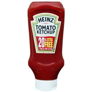 Heinz Tomato Ketchup 700g Only 49p @ B&M