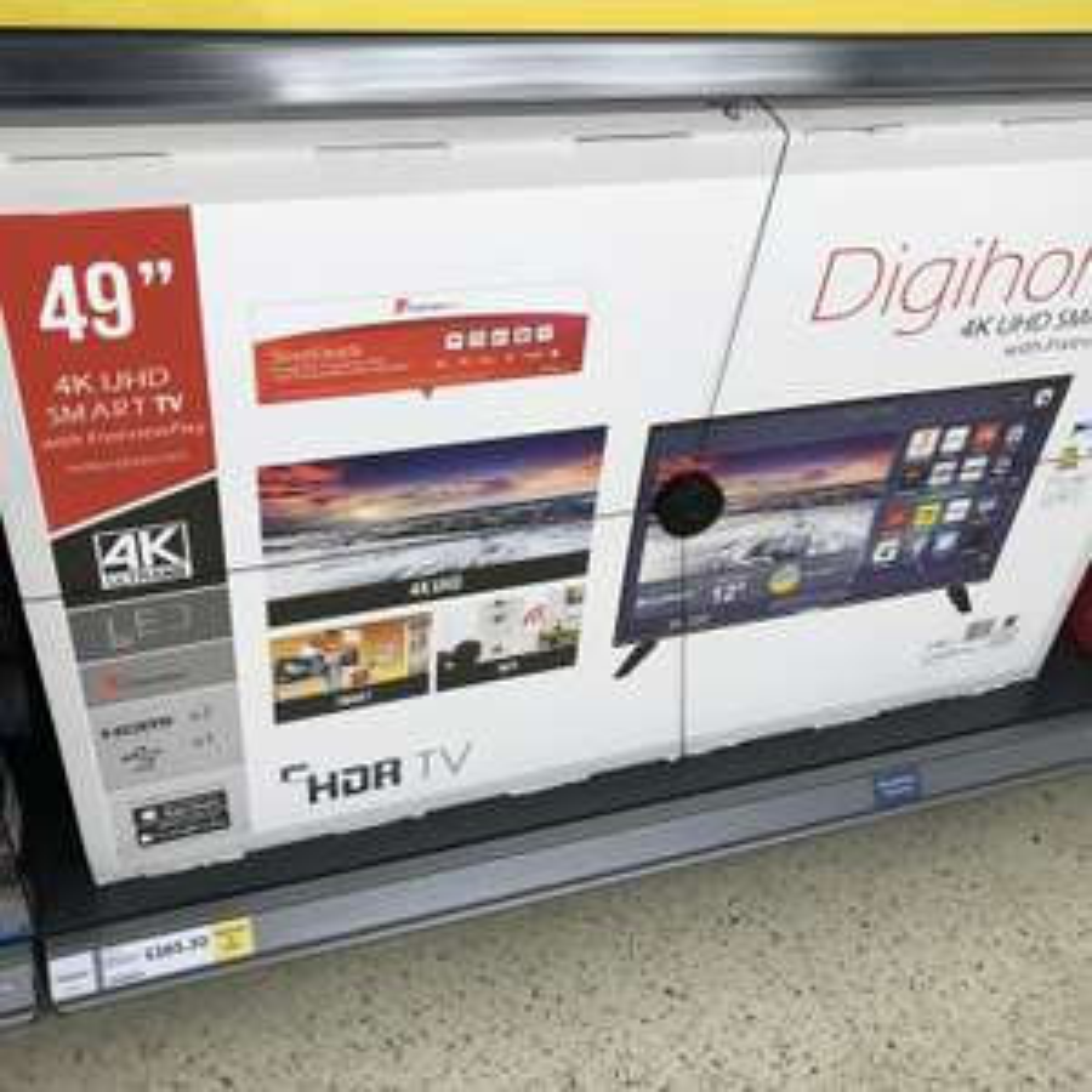 "Digihome 4K 49"" UHD Smart TV. £265.30 instore @ Tesco (Swansea Fforestfach)"