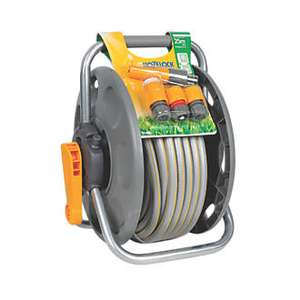 Hozelock 2 in 1 reel with hose 25m £24.99  @ Screwfix