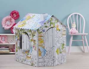 Kids colour in cardboard playhouses, shop, stage, dolls house and rocket were £17 now £8.50 @ Hobbycraft